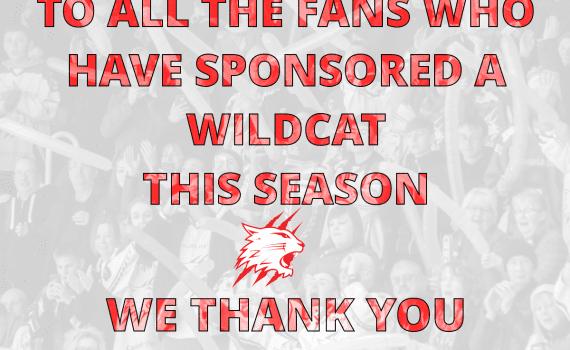 Fans Sponsorship Thank you Banner
